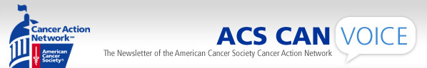 ACS CAN Newsletter Masthead